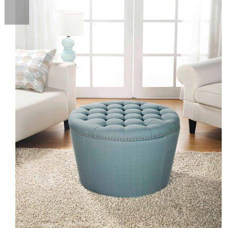 tufted ottoman with storage better homes and gardens tufted storage ottoman with