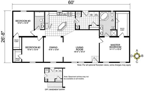 redman homes floor plans redman mobile home floor plans bestofhouse net 33806