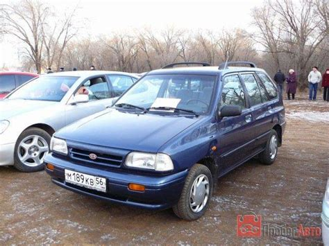 Pride Kia Motors 1999 Kia Pride Da Pictures Information And Specs