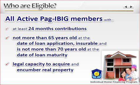 pag ibig housing loan qualification am i qualified in a pag ibig housing loan bulacan homes