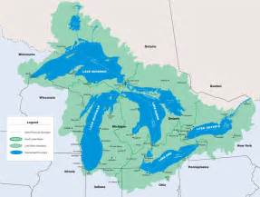 dynamic great lakes the great lakes basin