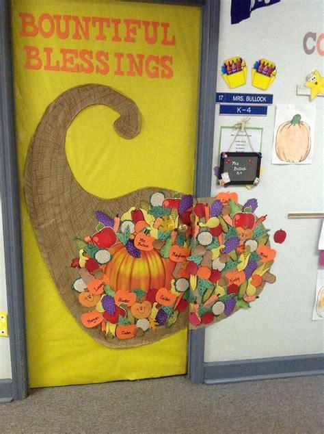 Thanksgiving Door Decorations For Preschool by 67 Best Images About Door Decorating On