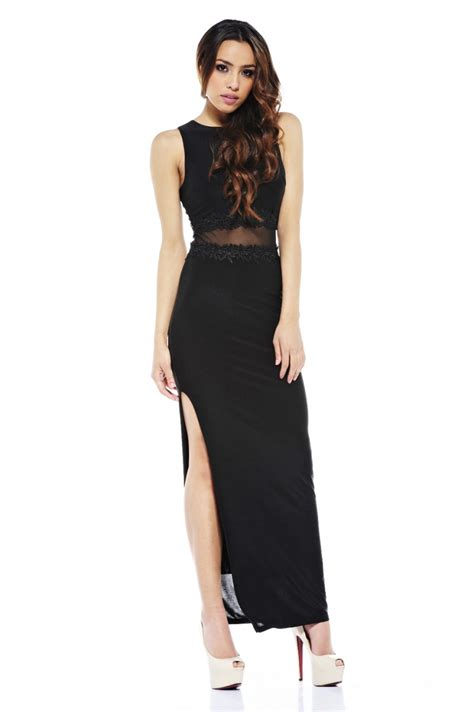 Black Maxi black maxi dress dressed up