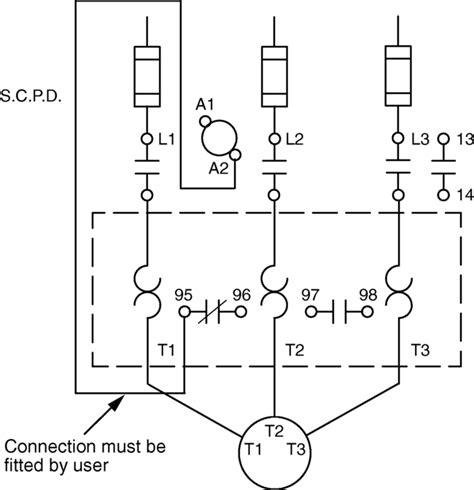 iec motor starter wiring diagram 32 wiring diagram