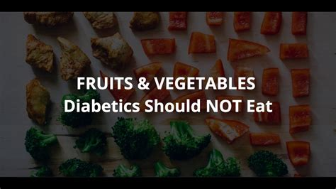 fruit that is not what fruits should diabetics not eat