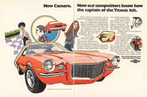motor repair manual 1970 chevrolet camaro on board diagnostic system 1970 camaro ad 01