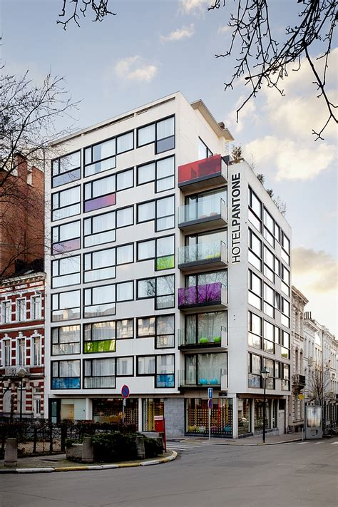 Pantone Hotel | pantone hotel add radiant color to your stay in brussels
