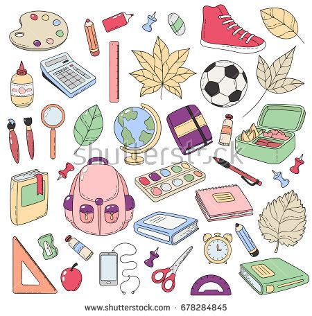 doodle new study doodle icons stock images royalty free images vectors