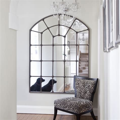 Cheap Modern Living Room Ideas large metal framed window mirror arched mirror free uk
