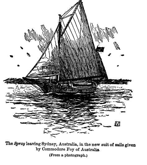 Yawl Spray   Joshua Slocum's boat