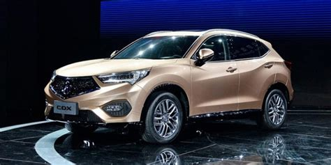 Acura Cdx by Snapshots Acura Cdx Unveiled At Beijing Press Event