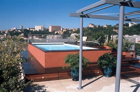 Terrasse Sur Le Toit by R 233 Alisation D Une Piscine Sur Toit Terrasse 224 Lyon Carr 233