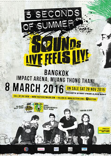 seconds of summer the institute march 5 seconds of summer to perform in bangkok for the first