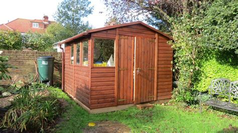 Sussex Sheds by Bakers Timber Buildings Study 4 Heavy Duty Shed