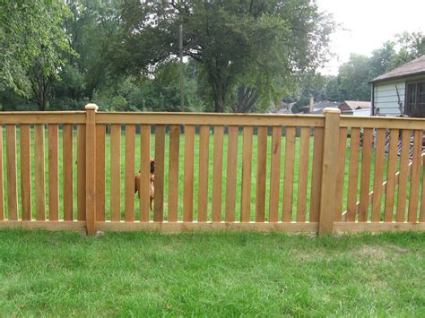outside gates 4 spaced traditional with gates outside view cedar fence cardinal fence supply