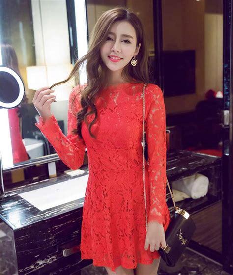 Murah Lu Natal Paling Panjang mini dress natal lengan panjang cantik jual model terbaru murah