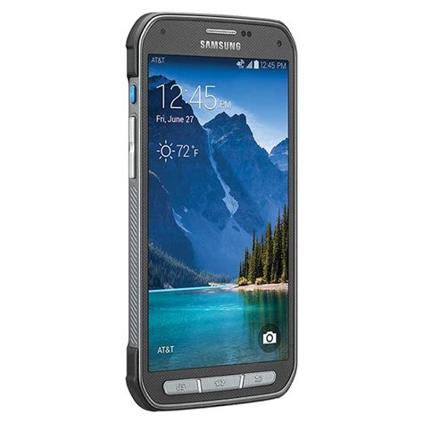 rugged smartphones at t samsung galaxy s5 active 16gb g870a rugged android smartphone unlocked gsm gray mint