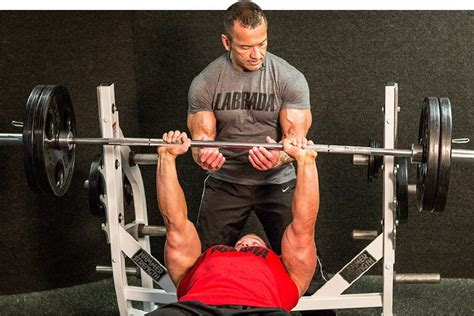 explosive bench press hunter labrada s definitive guide to training for fat loss