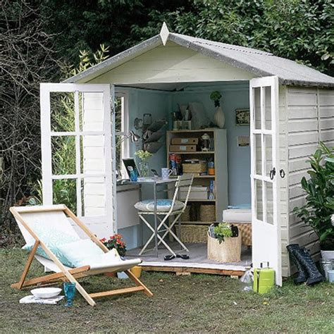 backyard office shed home dzine garden a garden shed hut or wendy house as a