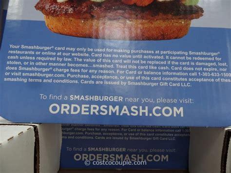 Smashburger Gift Card - smash burger gift card