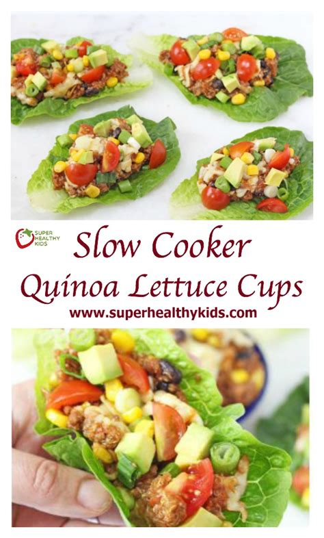 protein 1 cup quinoa cooker quinoa lettuce cups recipe healthy ideas for