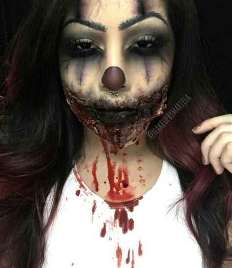 zombie clown makeup tutorial 22 original zombie girl clown makeup vizitmir com
