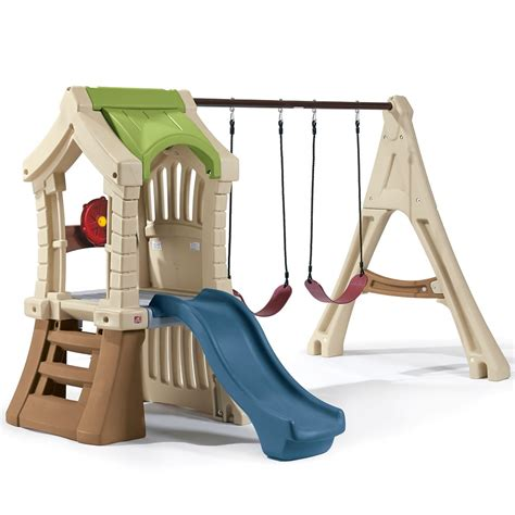 step 2 replacement swing parts for play up gym set kids swing set step2