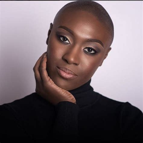 beautiful black bald women with leak beautiful black women with bald heads essence com