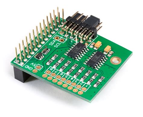 board raspberry pi adc pi 8 channel analogue to digital converter for the