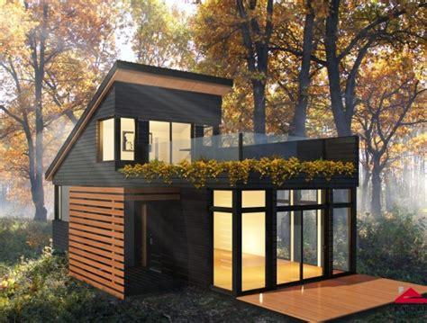 Microhouse by Micro Condos Et Micro Maisons Au Qu 233 Bec Guidehabitation Ca