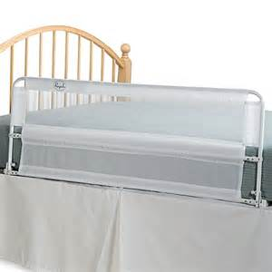 hide away 54 inch portable bed rail by regalo