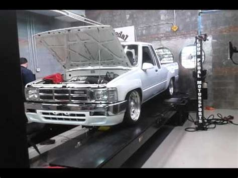 my toyota sign up dyno of ls1 in my toyota pick up youtube
