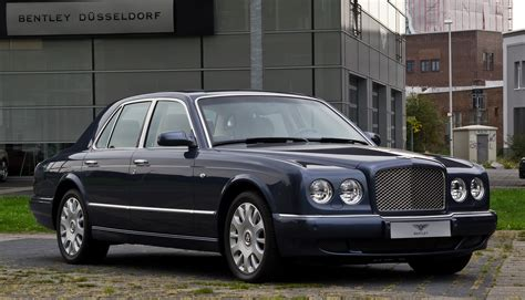 bentley arnage r file bentley arnage r facelift frontansicht 1 3