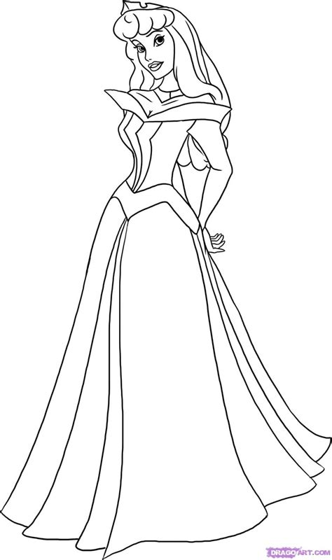 Princess Aurora Coloring Page Princess Rae Pinterest Disney Princess Coloring Pages Sleeping