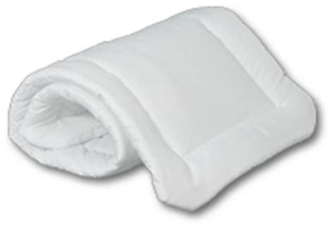 Back On Track Pillow Wraps by Vacs Pillow Wraps With Contoured Corners Thick Fiber Fill