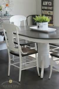 Painted kitchen tables on pinterest kitchen tables chalk paint