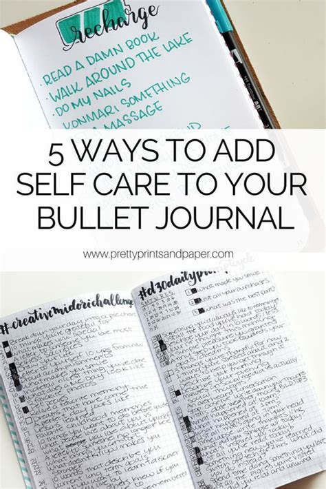 Mba Self Care 2718 best images about bullet journal ideas on