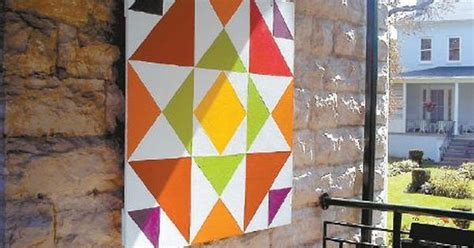 three color combinations google search quilt things barn quilts le roy s quilt project celebrates history