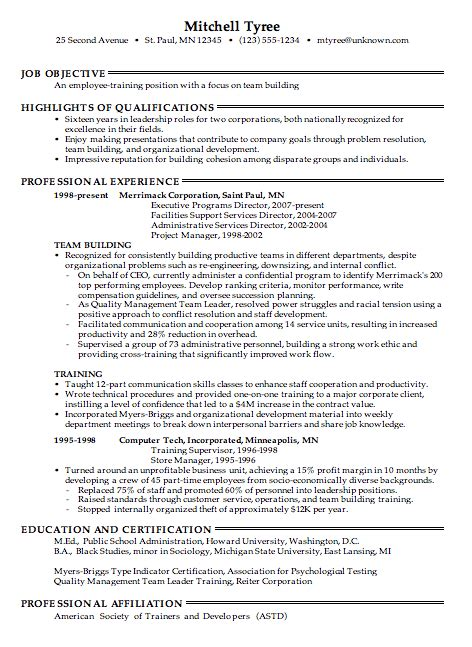 Labor Relations Specialist Sle Resume by Pretentious Resume Employment History 16 Chronological Joanne Smith Pg 1 Graphic