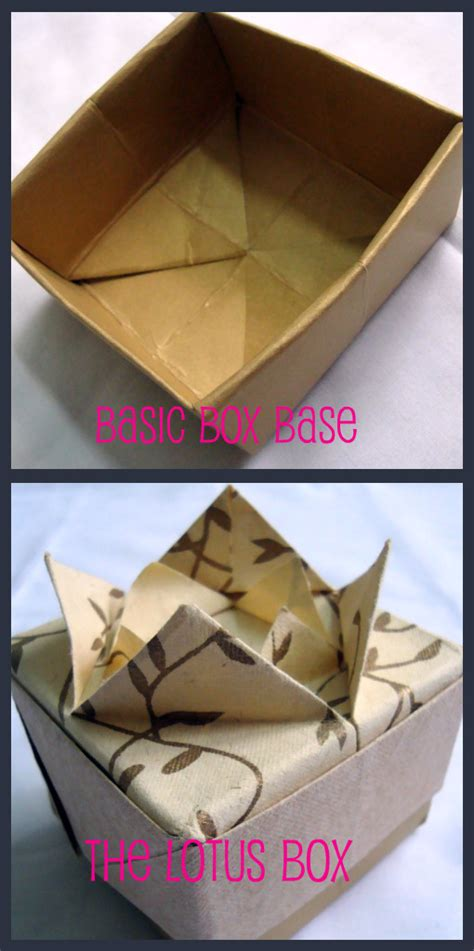 How To Fold A Paper Box With Lid - origami box with lid 171 embroidery origami