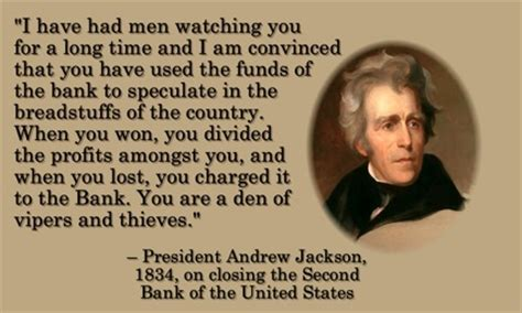 and y bank andrew jackson quotes quotesgram