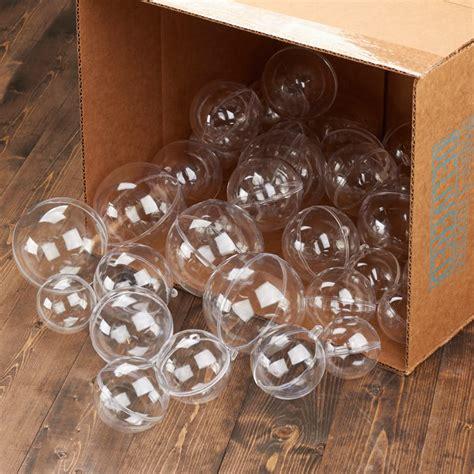 assorted acrylic fillable ball ornaments acrylic
