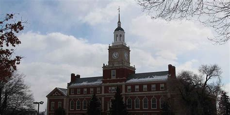 Howard Mba Application Deadline by Howard Howard District Of Columbia Review