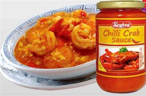 Singlong Chilli Crab Sauce Halal dessert suppliers india indonesia thailand philippines