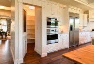 Kitchen With Pantry by Secret Door In Kitchen To Pantry Stashvault