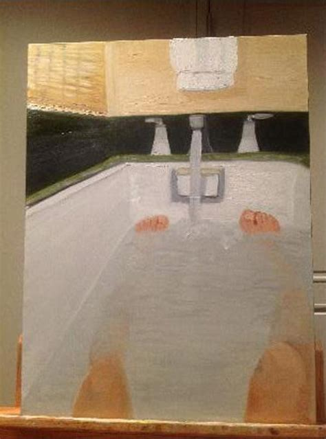 painting the bathtub hacked george w bush paintings business insider