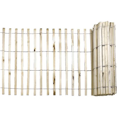 everbilt 1 4 in x 4 ft x 50 ft wood snow fence