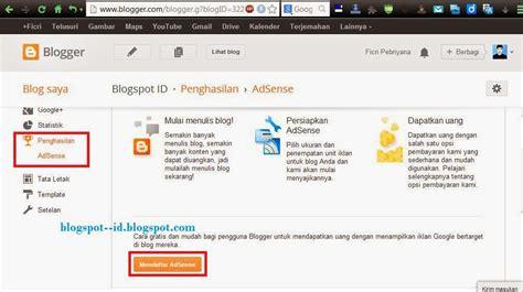 blogger daftar cara daftar blog cara mendaftar google adsense langsung