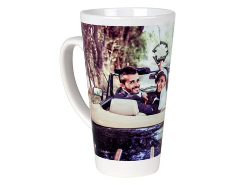design your own latte mug personalised photo latte mugs add photos text cewe