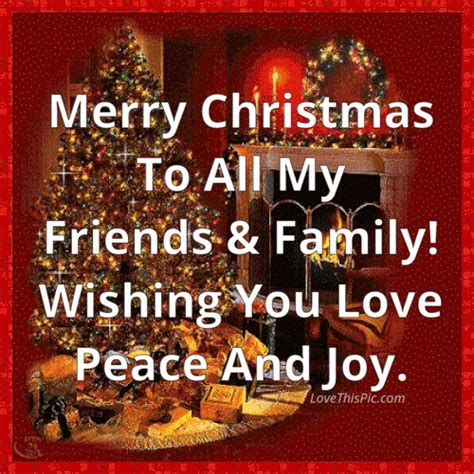 merry christmas    friends  family wishing  peace  joy pictures